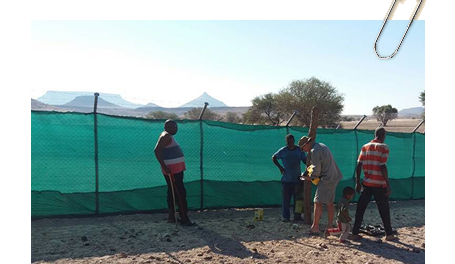 New lion-proof kraal in Kunene